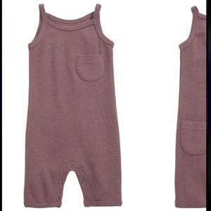 L'OVEDBABY Thermal Organic Cotton Romper.